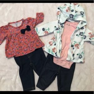 **3FOR$25!!**Baby Girl Outfits